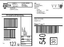Etiketten für > 30 Frachtführer als PDF oder an Ihren Thermodrucker